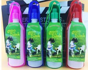 2x Portable Feeder Drinking Bowl Travel Cup Water Dispenser Pet Dog Water Bottle