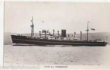 P & O M.V. Cannanore Shipping RP Card, B546