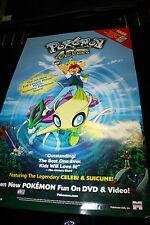 Pokemon 4ever Movie POSTER 27 x 40 , Veronica Taylor, A, LICENSED NEW RARE