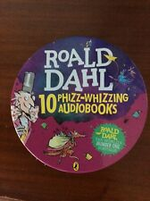 Roald Dhal 10 Phizz Whizzing Audiobooks -29 CDs with Famous Voices rrp£123.90