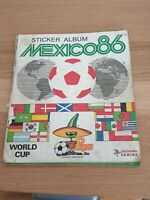 Panini Mexico 86 World Cup 1986 Sticker Album ~ 100% COMPLETE ~ Used Condition