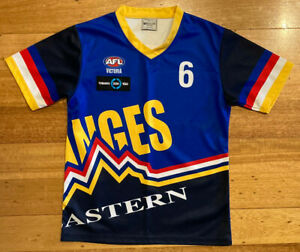 AFL Vic Eastern Ranges TAC Cup Player Issue Jersey Top Jumper Guernsey - S