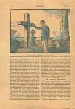 Film Calvaire de l'Ile du Pilier  Noirmoutier-en-l'Île Vendée 1925 ILLUSTRATION