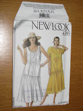 New Look Pattern 6395 Misses Maternity Dress Sew Size 8 10 12 14 15 18 VTG UNCUT