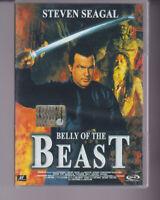 DVD BELLY OF THE BEAST STEVEN SEAGAL ,ARTI MARZIALI, AZIONE, OTTIMO