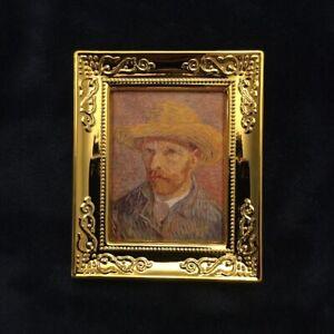 1:12 scale dollhouse miniature wall decor painting Vincent Van Gogh #18