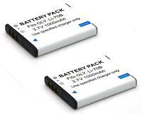 2x Battery Pack for Olympus D-700 D-705 D-710 D-715 FE-4020 FE-4040 FE-5040 New