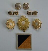 British Army Royal Logistics Corps Cap/Collar Badges/Shoulder Titles & TRF