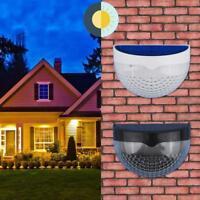 6LED Solar Wall Mount Fence Bulb Lamp Outdoor Garden Corridor Lights Waterproof