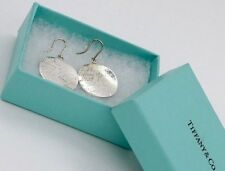 40c45be65 Tiffany & Co. Sterling Silver Round Disc Notes Drop Dangle Earrings in  Pouch Box