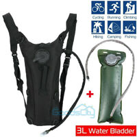 NEW Sport Water Bladder Bag Hydration Backpack 3L BPA Free Water Tank