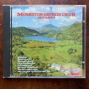 Morriston Orpheus Choir Myfanwy CD 1988 Welsh Traditional Folk Music