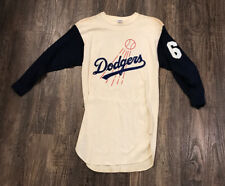 Vintage Rare 1970s-80s Los Angeles Dodgers Jersey Shirt Champion USA XL #6 New