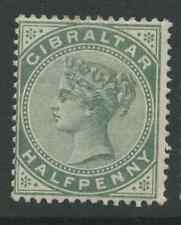 Gibraltar SG8 1887 1/2d