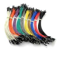 80PCS/Lot 20cm Female to Male Dupont Dupont Wire Color Jumper Cable For Arduino
