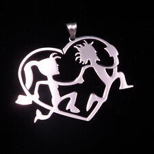 ICP hatchetman and hatchetgirl lover Elopement Music charm pendant ball Necklace