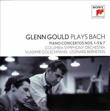 Glenn Gould Plays Bach: Piano Concertos Nos. 1-5 & 7 (CD, Sep-2012, 2 Discs, Sony Classical)