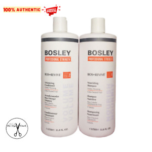 Bosley Bos Revive Shampoo & Conditioner 1 Liter Set for Color-Treated Hair