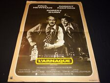 L' ARNAQUE redford paul newman  affiche cinema