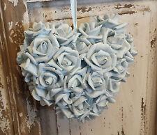 Wedding Decorations Heart Rose Hanging Flower Girl Bouquet Foam Pew Ends Vintage