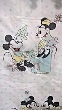 drap DISNEY MICKEY MINNIE C.T.I FRANCE vintage