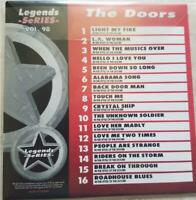 LEGENDS KARAOKE CDG THE DOORS ROCK OLDIES #98 16 SONGS CD+G 1970'S LIGHT MY FIRE