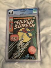 SILVER SURFER #14 CGC 6.5 (1970) FEATURING THE AMAZING SPIDER-MAN