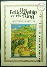 Commodore The Fellowship Of The Ring Rare Complimentary Copy Lotr C 64 128 Sx