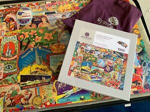 Wentworth Wooden 'Whimsy' Jigsaw 1000 Pieces - Silver Threads And Golden Needles