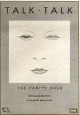 17/7/82Pgn13 Advert: Talk.talk New Album Out Now the Partys Over 10x7