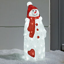Light up Snowman LED Christmas Figure for Indoor Outdoor Use by Lights4fun