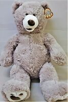 New Hugfun Plush Teddy Bear 25 Inch Available in Beige & Grey Color with Tags