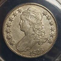 1828 50c Capped Bust Silver Half Dollar - ANACS AU 50 DETAILS - Lot#L650