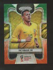 2018 Panini Orange Green Prizm Soccer Neymar Jr. Brazil
