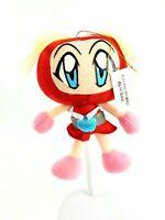 1999 Bomberman Lady B-daman Stuffed Toy Plush Doll Figure Takara UFO JAPAN Sega