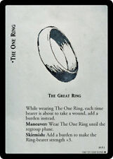 LoTR TCG AE Ages End Foil The One Ring The Great Ring 19P1