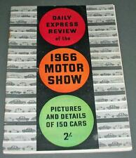 Old Daily Express Review Of The 1966 Motor Show.
