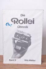 Die Rollei Chronik Band II Udo Afalter