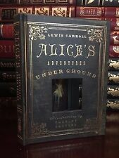 Alice's Adventures Under Ground by Carroll New Illustrated Hardcover Wonderland