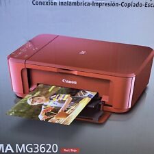 NEW Canon PIXMA MG3620 RED Wireless Printer/Scanner +Cloud Link Sealed Brand New