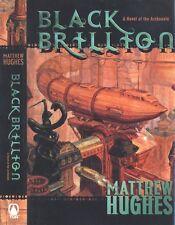 Black Brillion by Matthew Hughes (SFBC hardcover edition) Canadian SF author