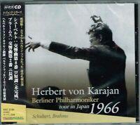 Schubert Brahms Karajan & Berliner Philharmoniker tour in Japan 1966 CD wOBI NEW