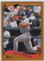2002 Topps Baseball Cincinnati Reds Team Set