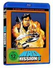 Mad Mission 5 - Uncut - 2 Disc Complete-Edition (Blu-ray + DVD)  Neu!