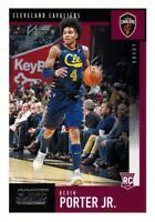 Kevin Porter Jr RC 2019-20 Chronicles SCORE Rookie Card #608 Cleveland Cavaliers