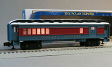 Lionel The Polar Express Electric O Gauge Model Train Cars Combination Car