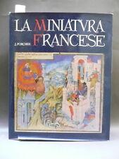 PORCHER JEAN LA MINIATURA FRANCESE MILANO ELECTA 1959