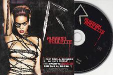 RARE CD CARTONNE CARDSLEEVE 2T RIHANNA RUSSIAN ROULETTE 2009 FRANCE