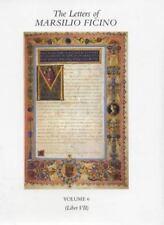 The Letters of Marsilio Ficino: Volume 6 by Ficino, Marsilio