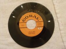 Buddy Holly Peggy Sue  on Coral Original  45